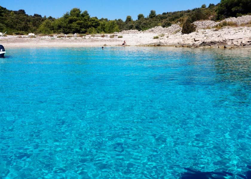 Blue lagoon Trogir