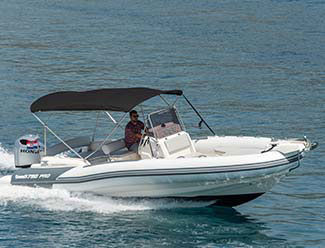 Rent a RIB boat in Trogir